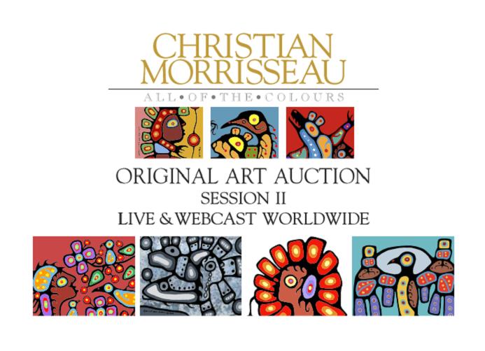 Christian Morrisseau Original Art Auction Session II November 2016