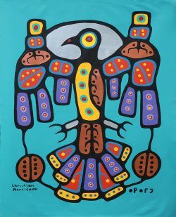 Copper Thunderbird Norval Morrisseau